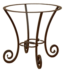 Forged iron round table base for Forged iron table base